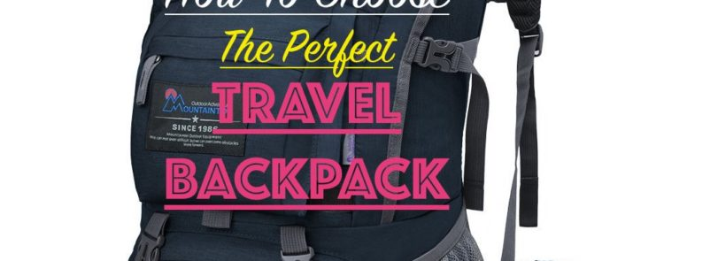 The perfect travel backpack