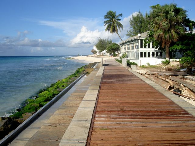 Barbados Boardwalk