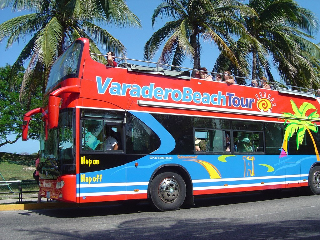 Varadero Double decker Bus