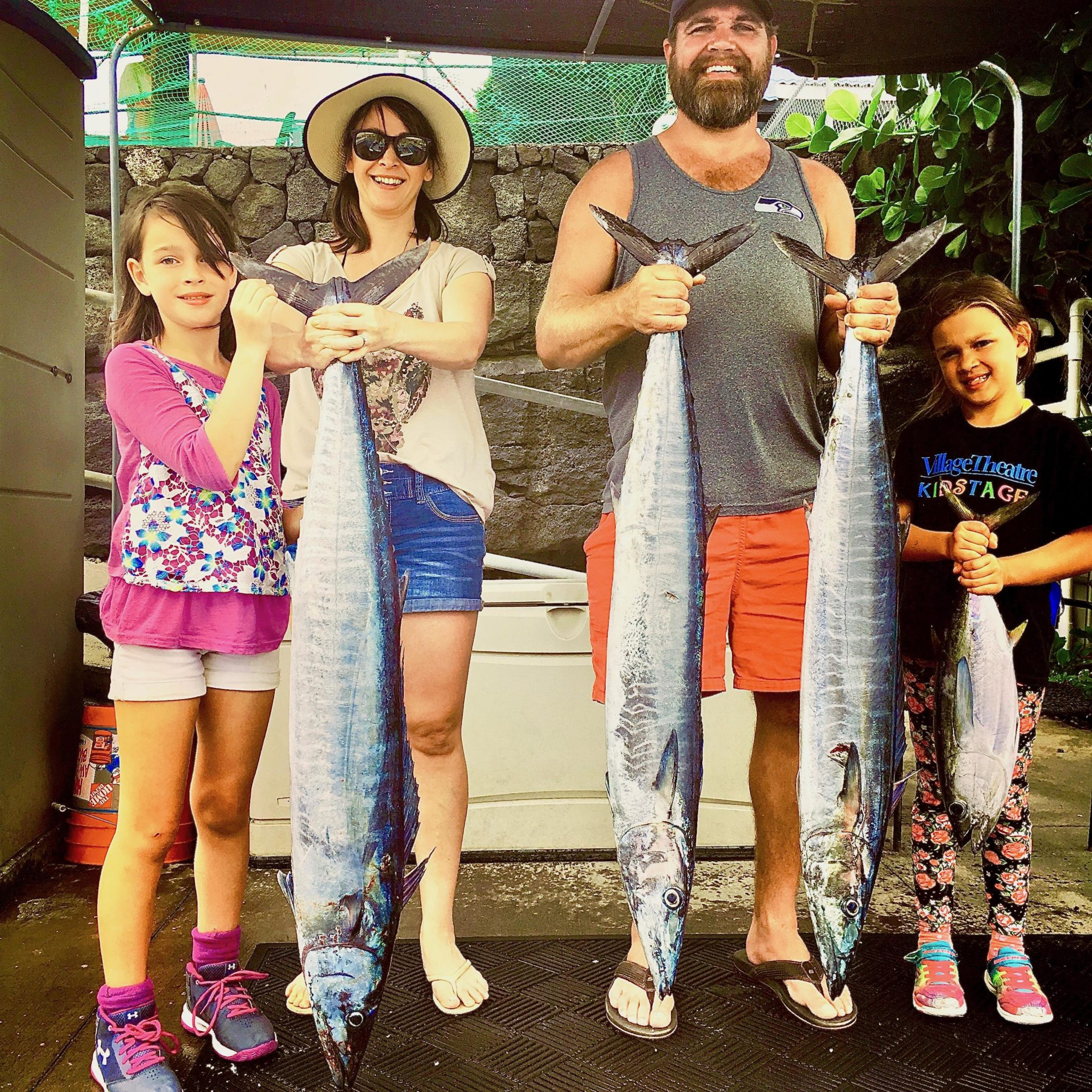 Hanamana Family Fishing