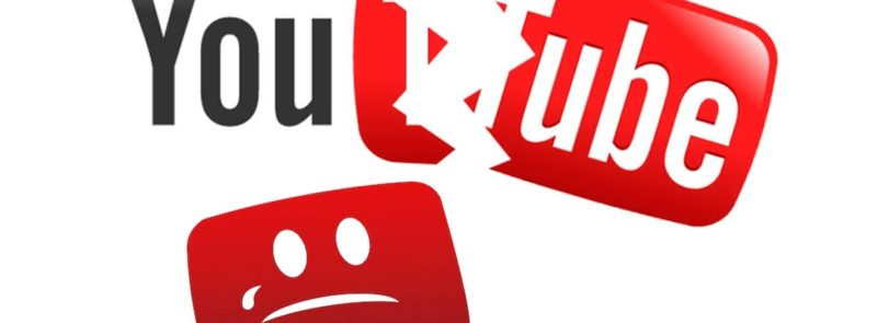 YouTube is down main image