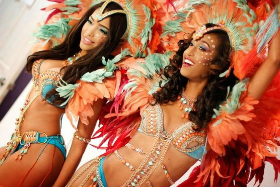 Caribbean Festival costumes