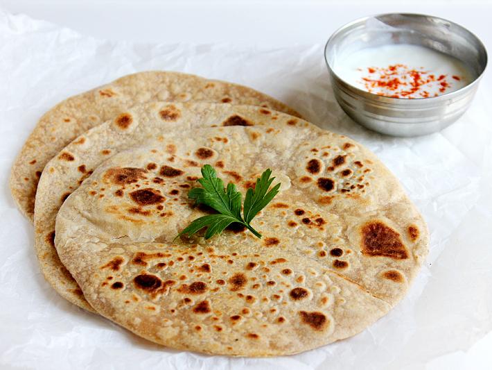India-Roti-Yogurt