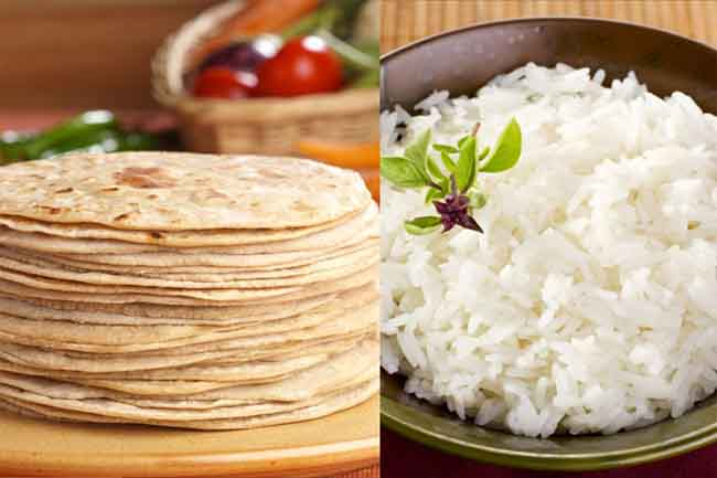 Roti Vs Rice