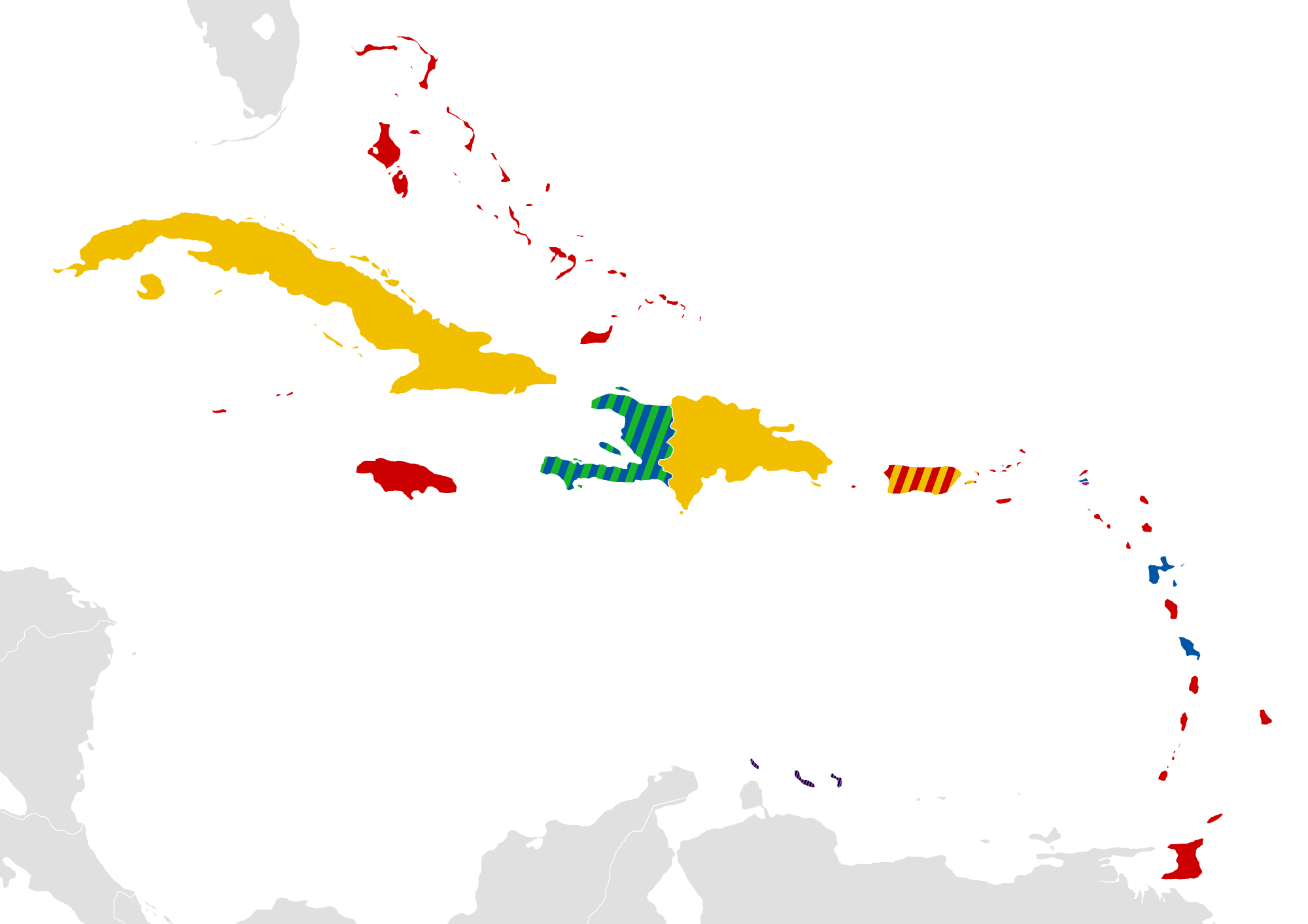 12 Caribbean Maps You Need | Caribbean Islands Map - Adventugo