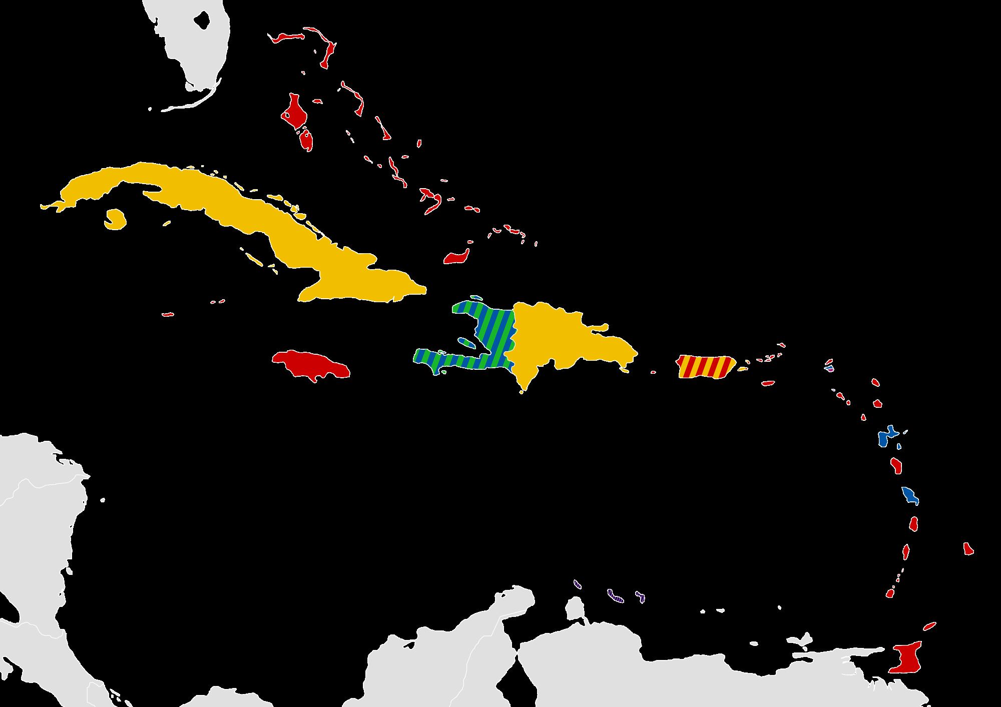 Latin Speaking Caribbean Countries