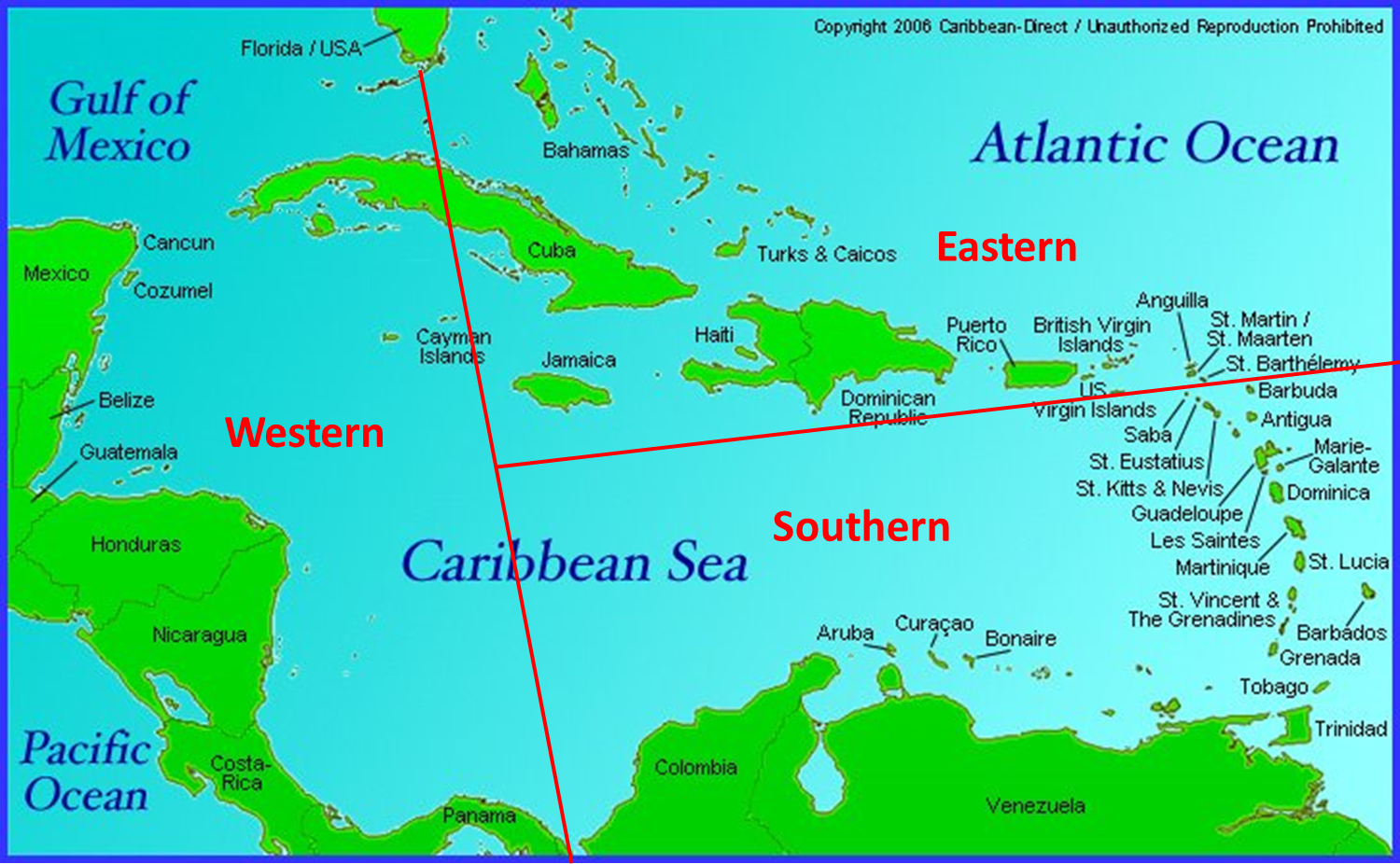 12 Caribbean Maps You Need | Caribbean Islands Map - Adventugo on
