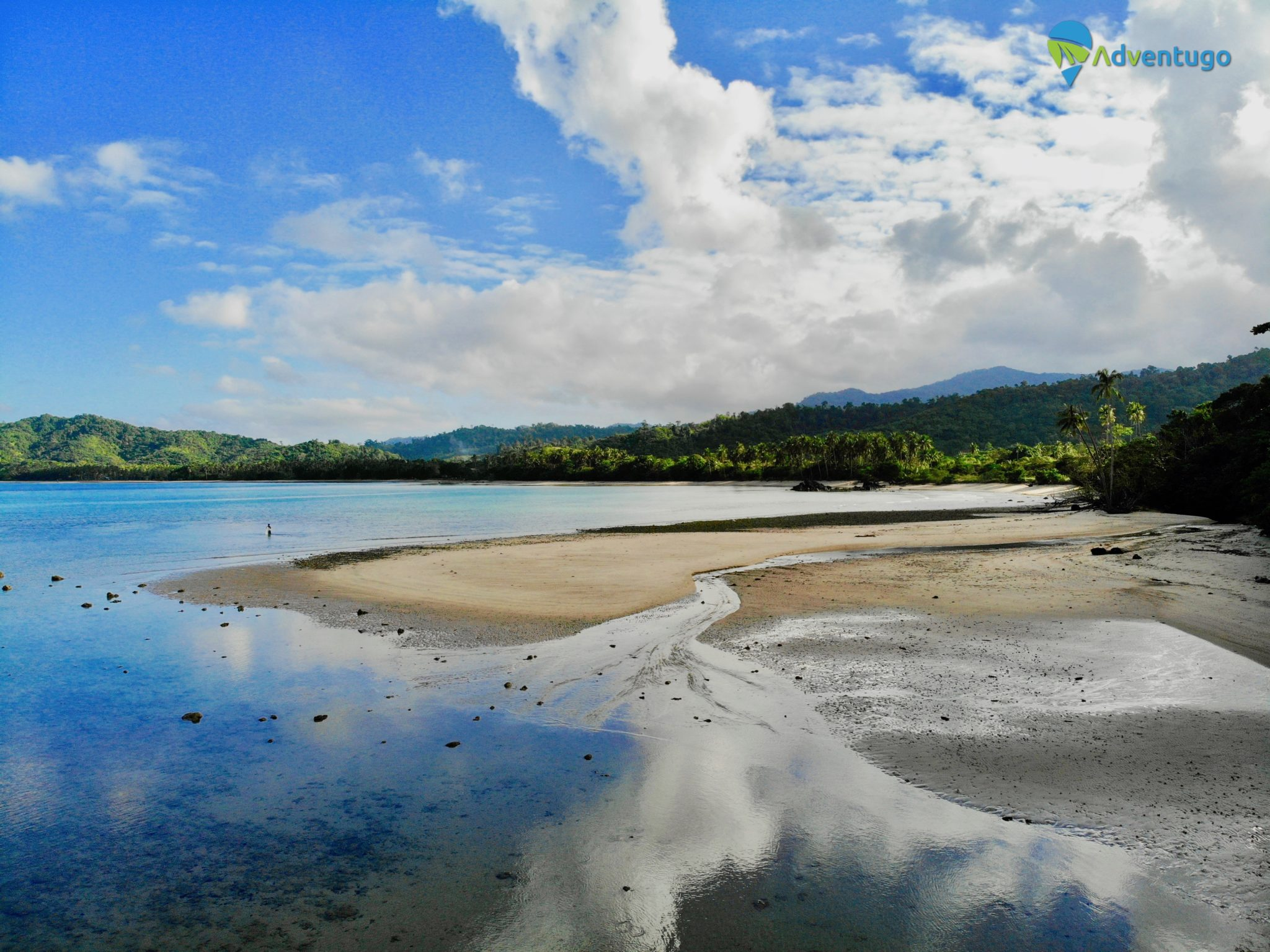Flying My Drone Just Outside the No Fly Zone at Lio Beach El Nido