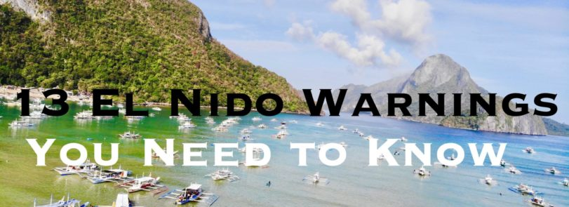 El Nido Warnings, Philippines Blog