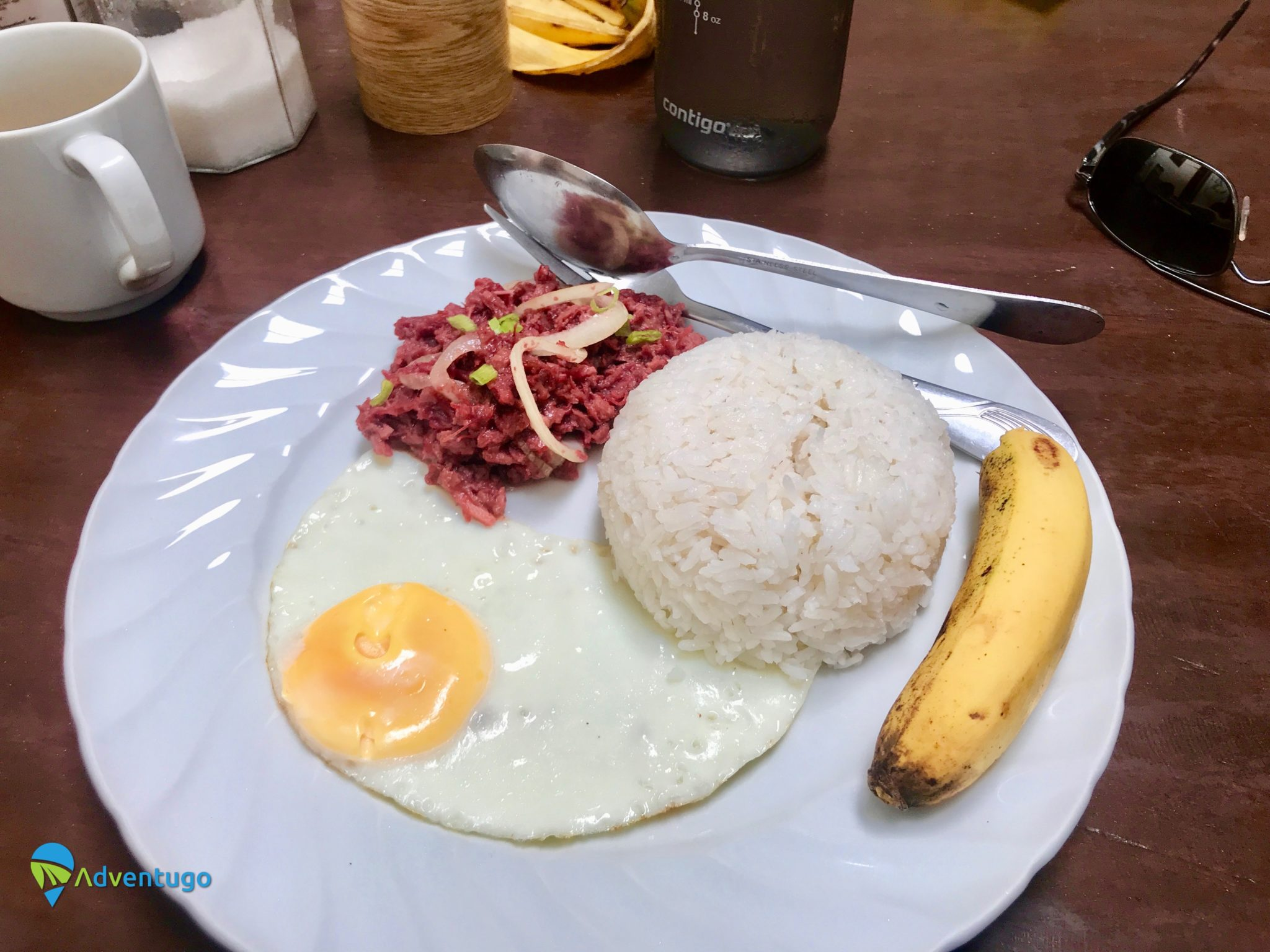 Corn Silog, Philippines Breakfast dish