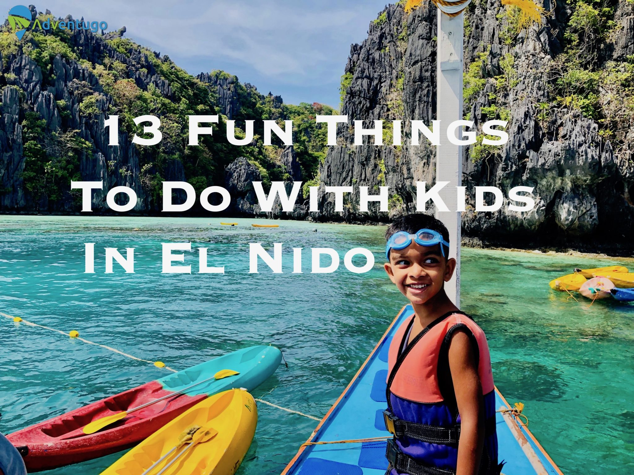 13 Fun Things to Do With Kids In EL Nido, Philippines