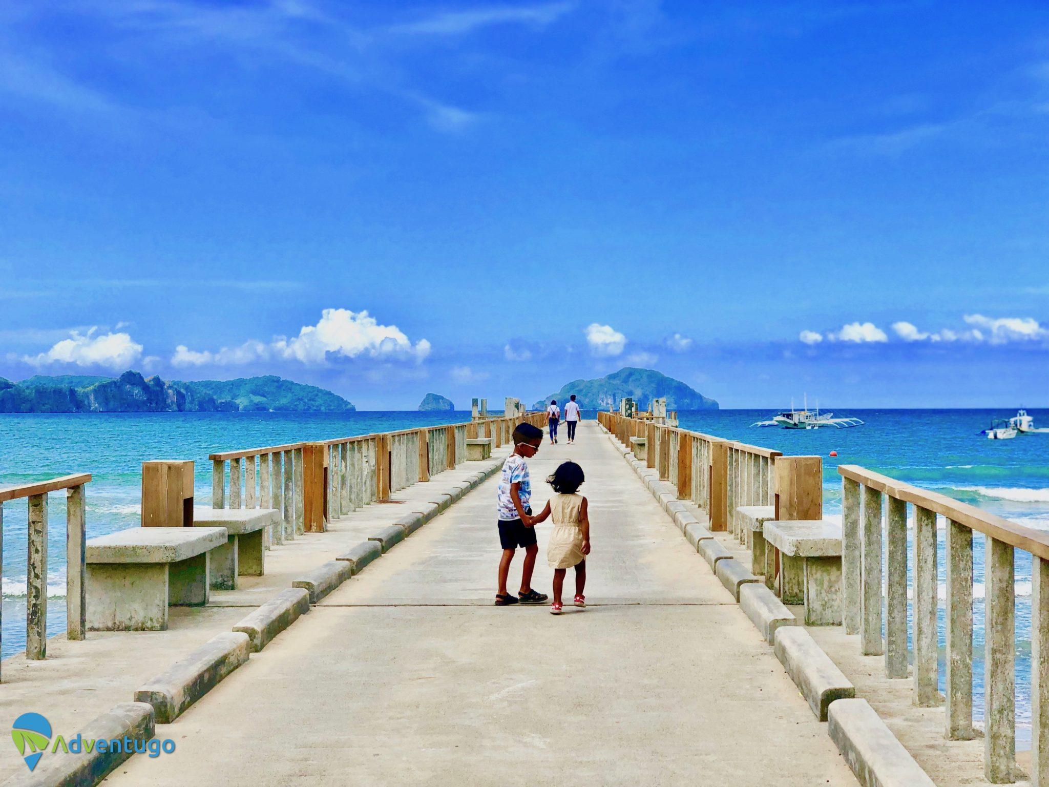 The Pier at Lio Beach, El Nido