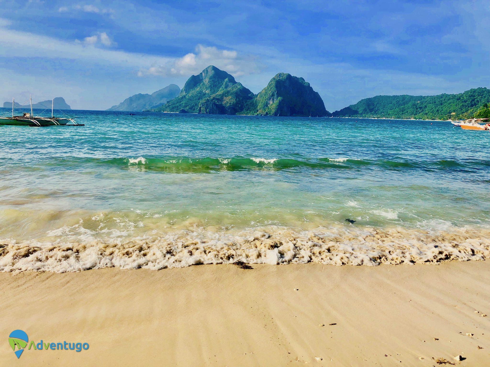 Las Cabanas Beach/Vanilla beach El Nido Philippines