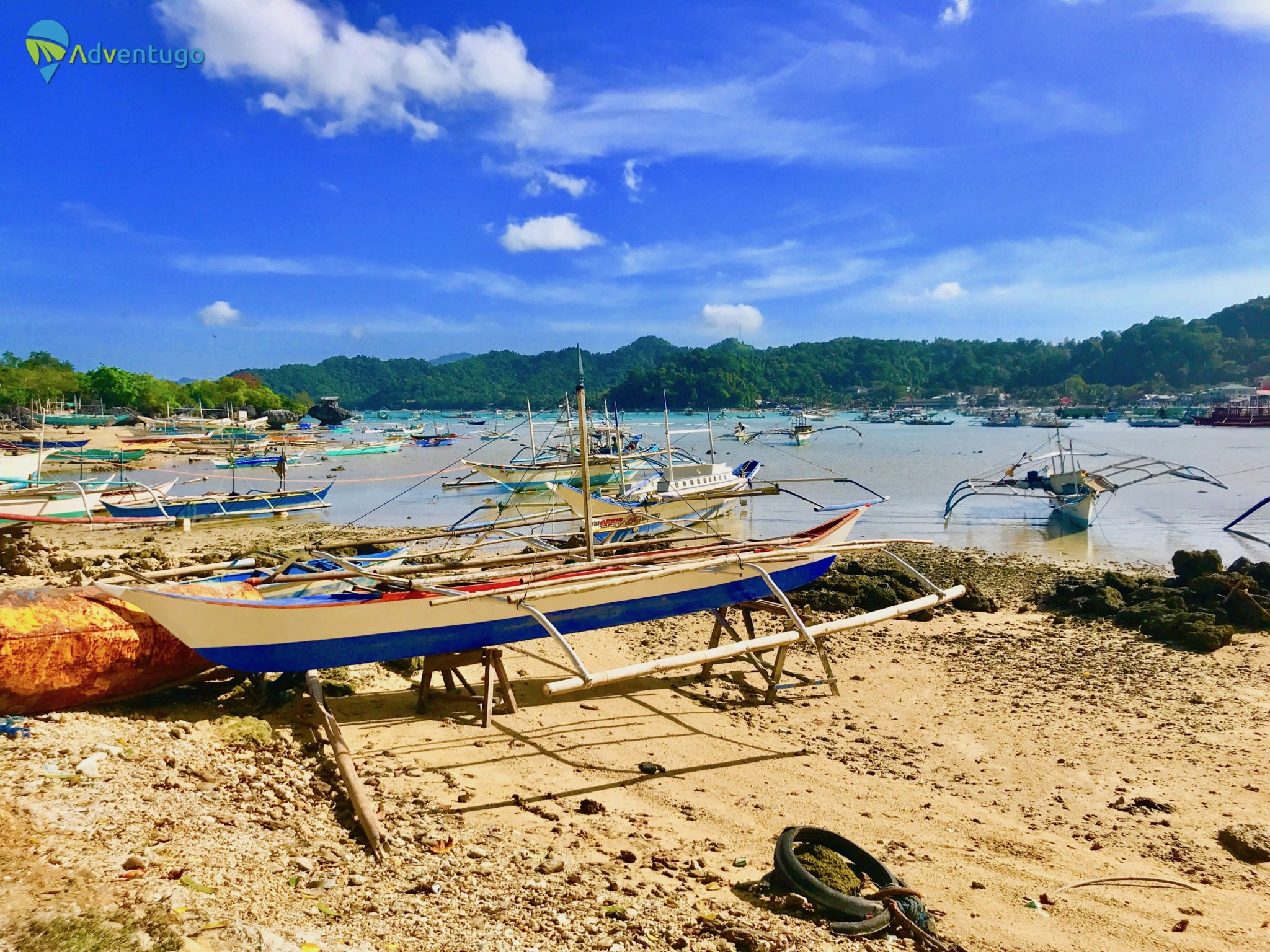 El Nido Longtail Boats, Philippines