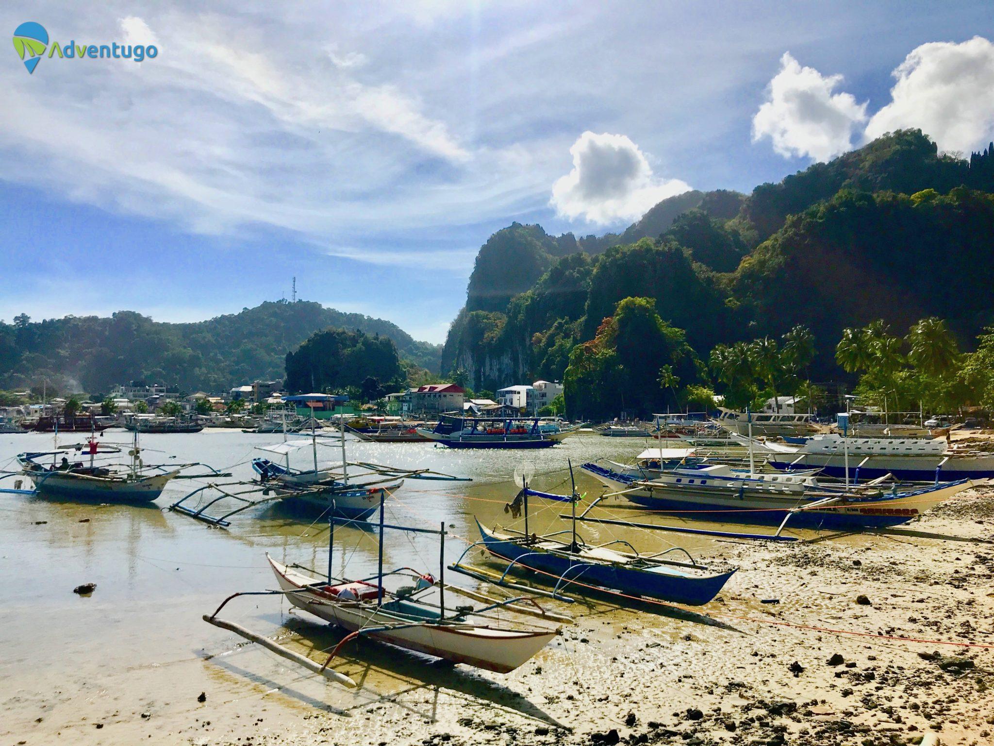 El Nido Boats in Villages, Philippines