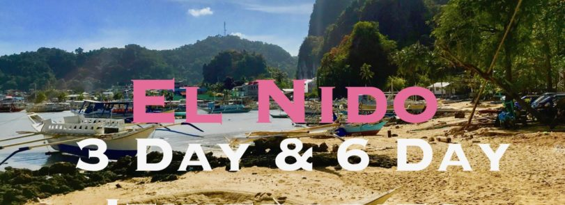 El Nido 3 day and 6 day Itineraries. Recommended Philippines Itineraries