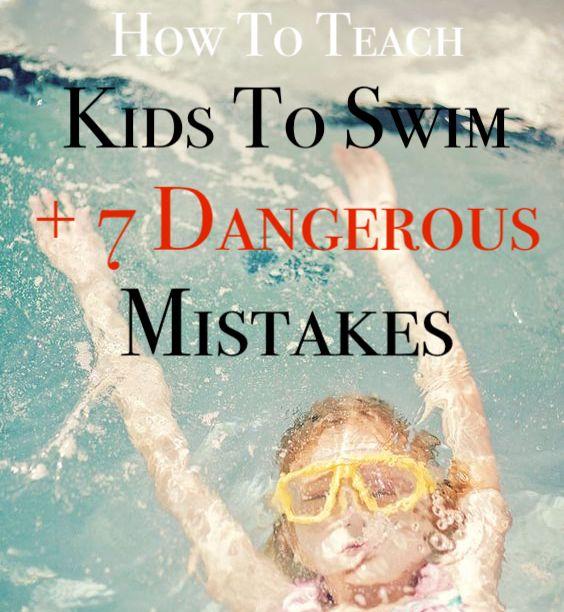 How to Teach Kids to swim