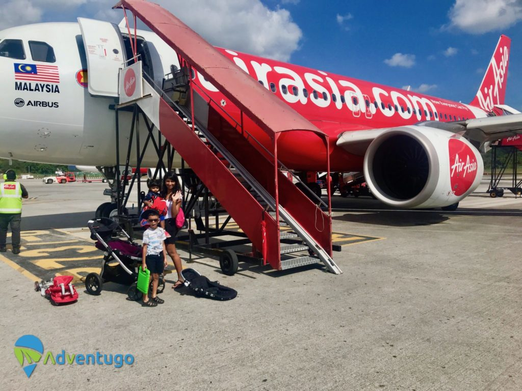 Airport Anxiety, Flying Air Asia