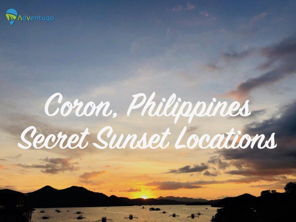 Coron Philippines Sunsets